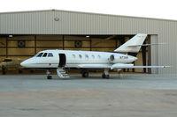 N73MR @ GKY - At Arlington Municipal - Falcon Jet