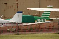 G-SERL @ EGTO - Taken at Rochester Airport 20th June 2008. - by Steve Staunton