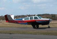 N675BW @ EGLK - VERY GOOD LOOKING BEECH - by BIKE PILOT