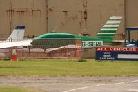 G-SERL @ EGTO - Taken at Rochester Airport 20th June 2008. - by Steve Staunton