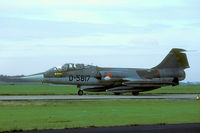 D-5817 @ EHVK - My first trip to anonther airbase than Leeuwarden: Starfighters at Volkel. - by Joop de Groot