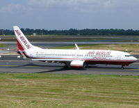D-ABAN @ EDDL - Boeing B737-86J D-ABAN Air Berlin - by Alex Smit