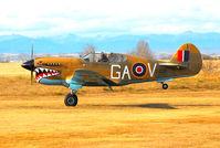 C-GGAV - P-40K - by Rick Nelson