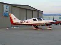 N401MH @ GKY - At Arlington Municipal - Cessna 400