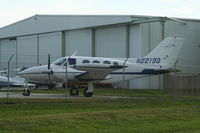 N2219Q @ PIE - Cessna 421A
