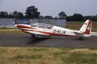 D-KLIK @ EGTC - Fournier RF.5. PFA Rally 1994 - by Peter Ashton