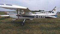 D-EEVQ @ EGTC - Cessna F.152. PFA Rally 1994 - by Peter Ashton