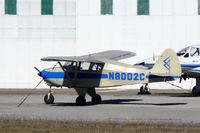 N8002C @ FTW - At Mecham Field - Piper Tri-Pacer