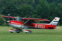 D-ECUJ @ EBDT - landing at schaffen - by Joop de Groot