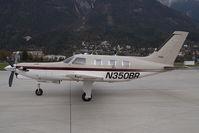 N350BR @ LOWI - Piper 46 Malibu