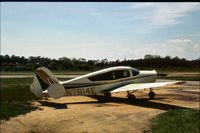 N7614E @ ZAHNS - Seen in 1976 and 1977 at Zahns Airfield, Amityville, Long Island - closed in 1980 - by Peter Nicholson