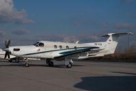 HB-FOS @ VIE - Pilatus PC12