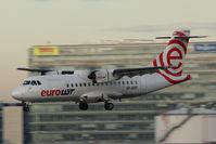 SP-EDF @ VIE - Aerospatiale ATR-42-500