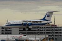 YR-BEA @ VIE - BAe 146-200