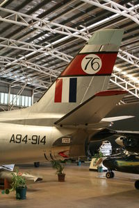 A94-914 @ AIR MUSEUM - Displayed in Austalian Aviation Heritage Centre - Winnellie NT - by Daniel Vanderauwera