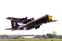 164763 @ AFW - Blue Angels Fat Albert JATO takeoff at the 2003 Alliance Airshow