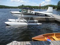 C-GWMQ @ CYQA - Sunny day in July, at the docks of the village of Rosseau, ON - by Pieter Bastemeyer
