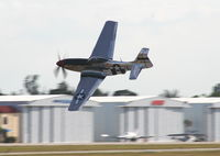 N751RB @ SUA - P-51 Glamorous Gal being flown by Dale Snodgrass