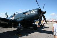 N45NL @ SUA - F4U-5NL Corsair