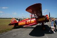N696H @ SUA - Stearman Boeing A75