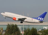 LN-TUF @ LEBL - Tyra Haraldsdatter, now operated by SAS Norge. - by Jorge Molina