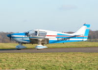 G-BAPY @ EGTF - RETURNING AFTER LOCAL FLIGHT - by BIKE PILOT