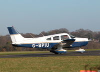G-BPIU @ EGTF - TAXYING OUT TO RUNWAY 06 - by BIKE PILOT