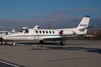 N550BG @ VIE - Cessna 550 Citation 2