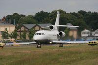 VP-BFV @ EGLF - Taken at Farnborough Airshow on the Wednesday trade day, 16th July 2009 - by Steve Staunton