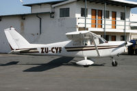 ZU-CYF @ FALA - FALA (This aircaft has C/N OGRADY1 the actual Cessna C/n is unknown)