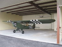 N87826 @ SZP - 1946 Piper J3C-65 as L-4 GRASSHOPPER, Continental C85 85 Hp, ex STEVE McQUEEN aircraft. - by Doug Robertson