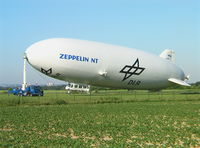 D-LZZF @ EDKB - Zeppelin NT - Deutsche Zepplin Reederei / DLR at Bonn/Hangelar airfield - by Ingo Warnecke
