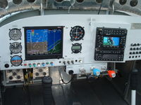 N269MC @ X26 - Advanced AF3500, GNS430W, Garmin Stack, TruTrak AP - by Gary T. Ciampa