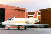 N344UP @ FTW - At Meacham Field - Sabreliner