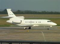 HA-LKN @ LHBP - Dassault Falcon 900EX at Budapest Ferihegy Airport