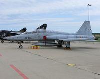 AE9-001 @ EBFS - Northrop SF-5BM Freedom Fighter AE.9-001/23-23 Spanish Air Force - by Alex Smit