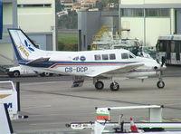 CS-DCP @ LPMA - Beechcraft A90-1 at Madeira Airport