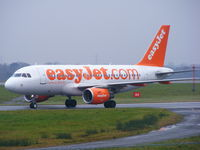 G-EZDA @ EGCC - Easyjet's first flight into Manchester with an A319 - by chris hall