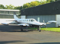 D-IFTP @ EDKB - Cessna 340 at Bonn/Hangelar Airfield - by Ingo Warnecke