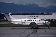 C-GWXH @ CYVR - CYVR (Now registered C-FSKX formerly C-GTLT of Timberline Air and C-GWXH of Westex Airlines) - by Nick Dean