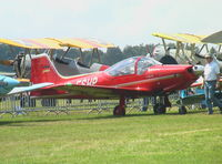 D-ESHP @ EBDT - Aeromere F.8L Falco at 2008 Fly-in Diest airfield