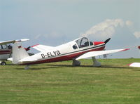 D-ELYQ @ EBDT - Klemm Kl.107C at Fly-In Diest airfield - by Ingo Warnecke