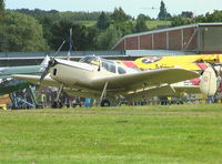 G-AJWB @ EBDT - Miles M.38 Messenger 2A at 2008 Fly-in Diest airfield