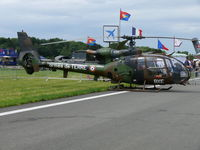 4209 @ EBFS - Aerospatiale SA342L1 Gazelle BXE/4209 French Army - by Alex Smit