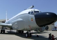 64-14844 @ BAD - RC-135 Cobra Ball on display at Barksdale Air Force Base. - by paulp