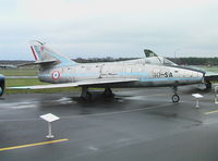 72 - Dassault Super Mystere B.2 of the French Air Force at the Luftwaffenmuseum, Berlin-Gatow - by Ingo Warnecke