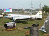 HA-LIQ - Lisunov Li-2 CAB of MALEV at Repülögep Emlekpark Budapest Ferihegy II