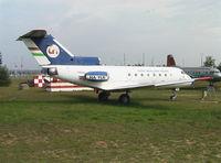 HA-YLR - Yakovlev Yak-40 CODLING of the Flight Inspection Service at Repülögep Emlekpark Budapest Ferihegy II