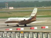 N914SP @ LHBP - Cessna 680 at Budapest Ferihegy I