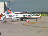 EC-JAG @ MCV - Ted Smith Aerostar 601 at Madrid Cuatro Vientos airfield
